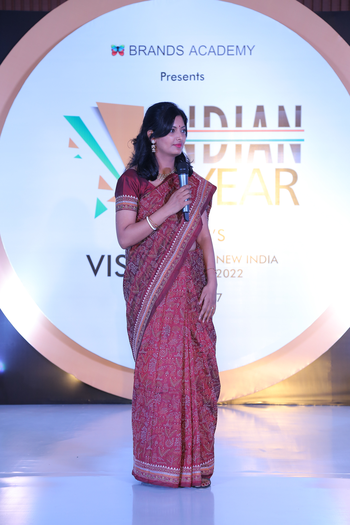 """ Indian Of The Year  award"" by Brands Academy, Delhi, 2017."