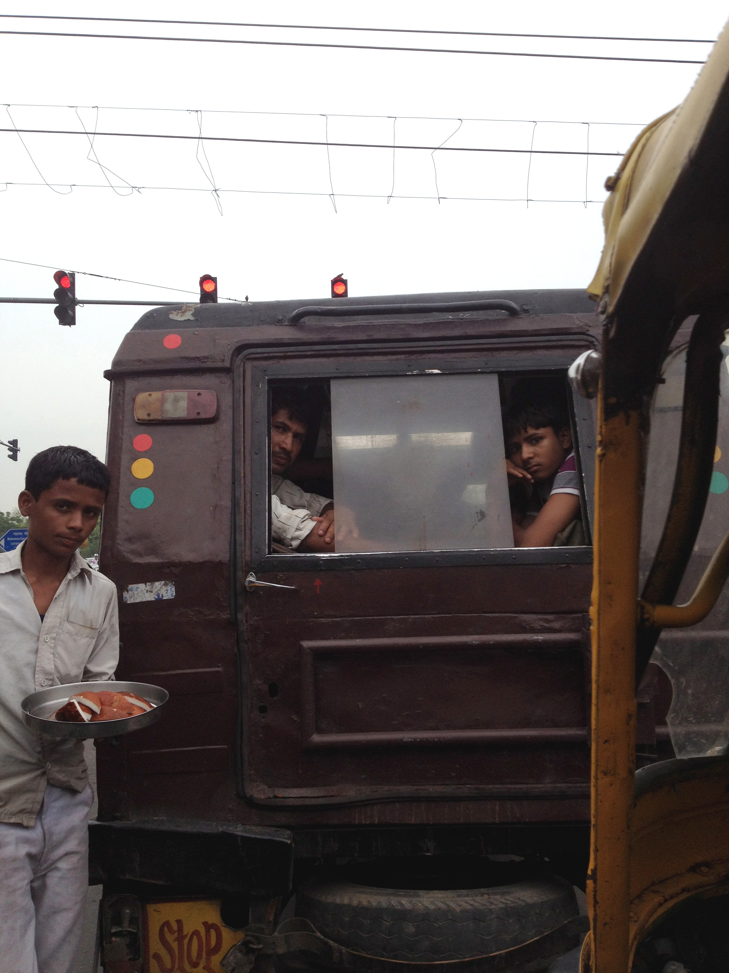 Intersection in New Delhi