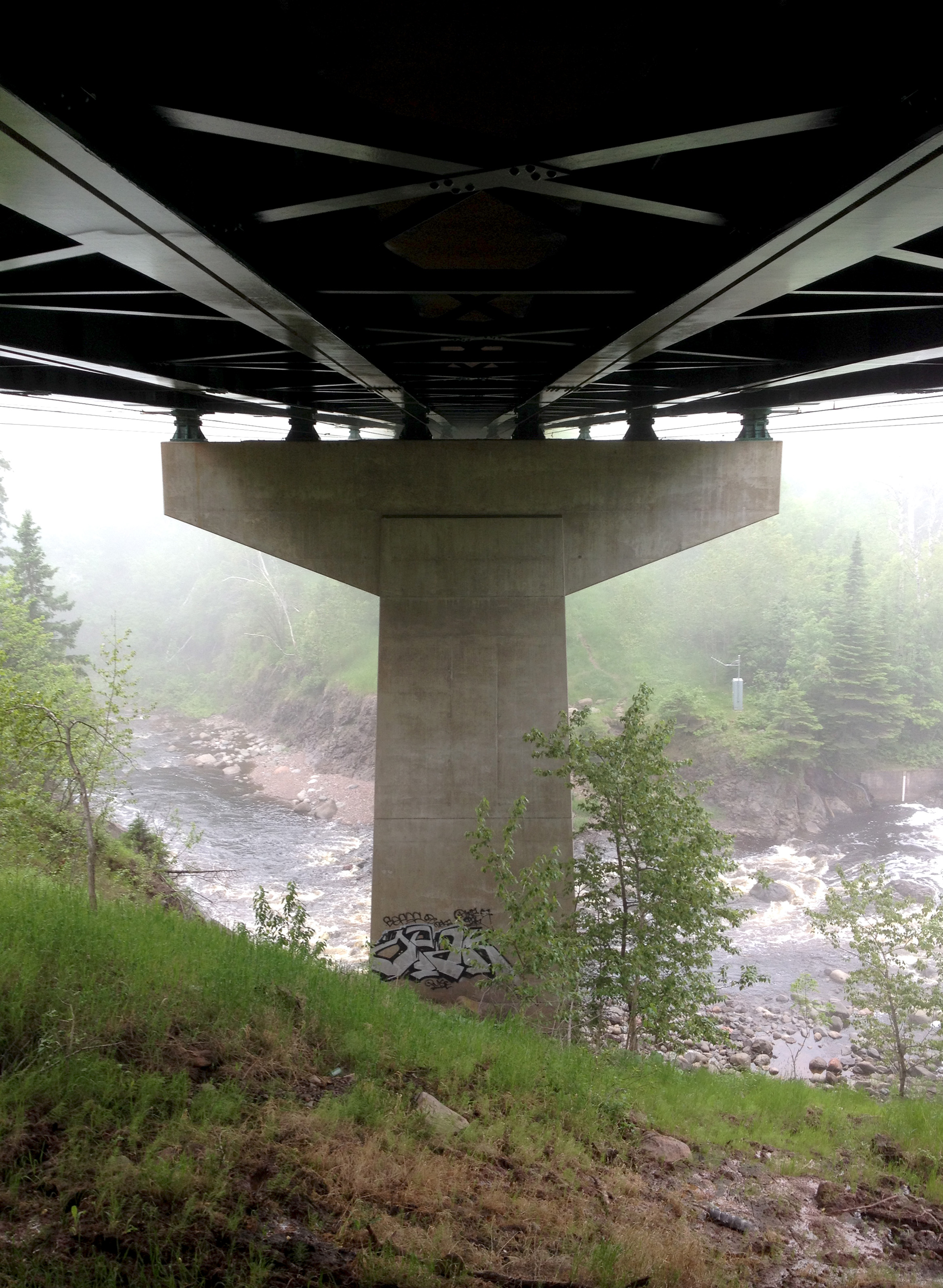 Bridge on the North Shore, Minnesota