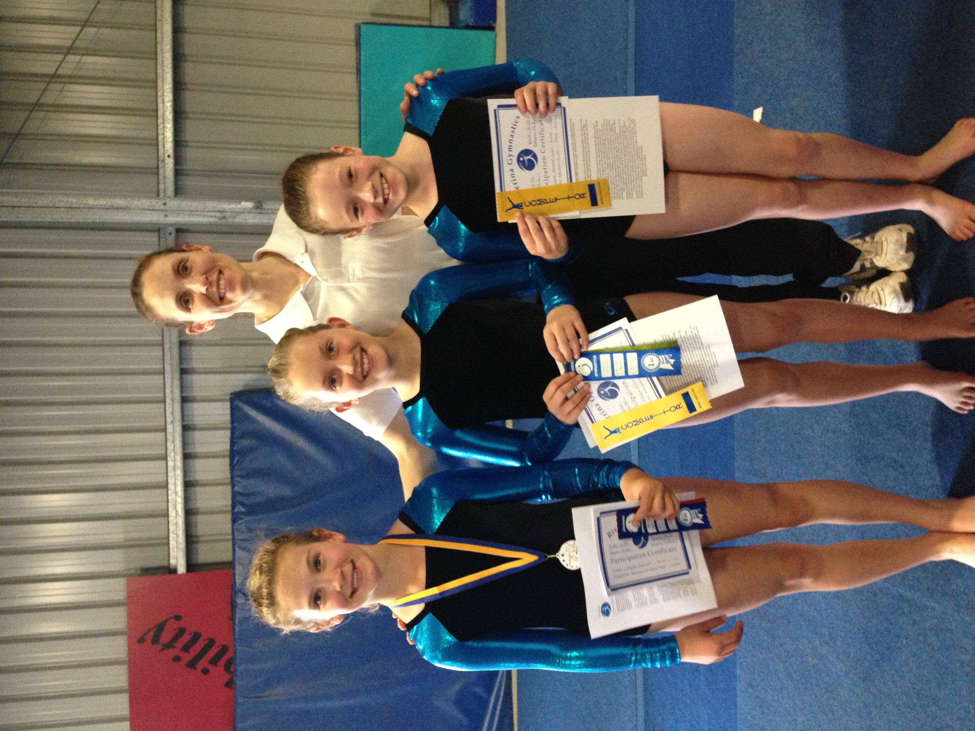 Mudgee's girls in the Riverina Regional Team