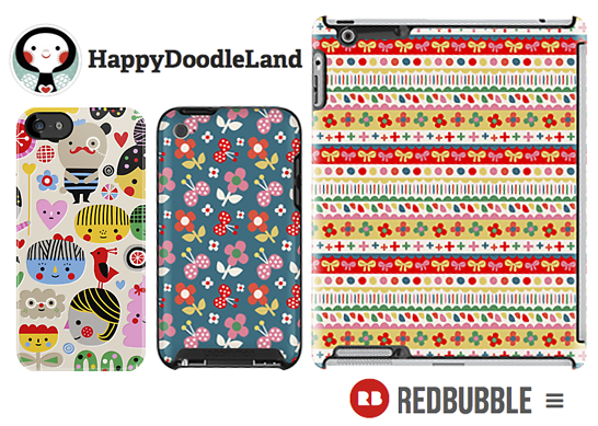 HappyDoodleLand_RedBubbleStore.png