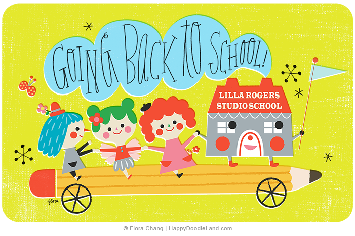 Going to Lilla School © Flora Chang | Happy Doodle Land copy.png