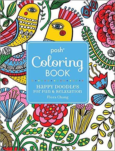 FloraChang_Posh_Coloring_Book_Cover