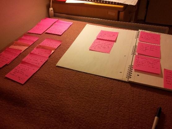 Vytvoření struktury prezentace