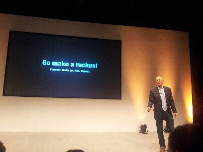 Go make a ruckus (Seth Godin)