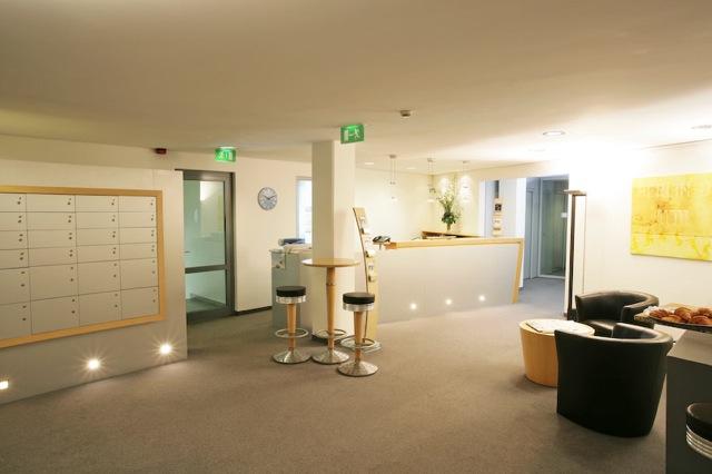 Fotos vom Geschäftssitz der Agentur für Erledigungen