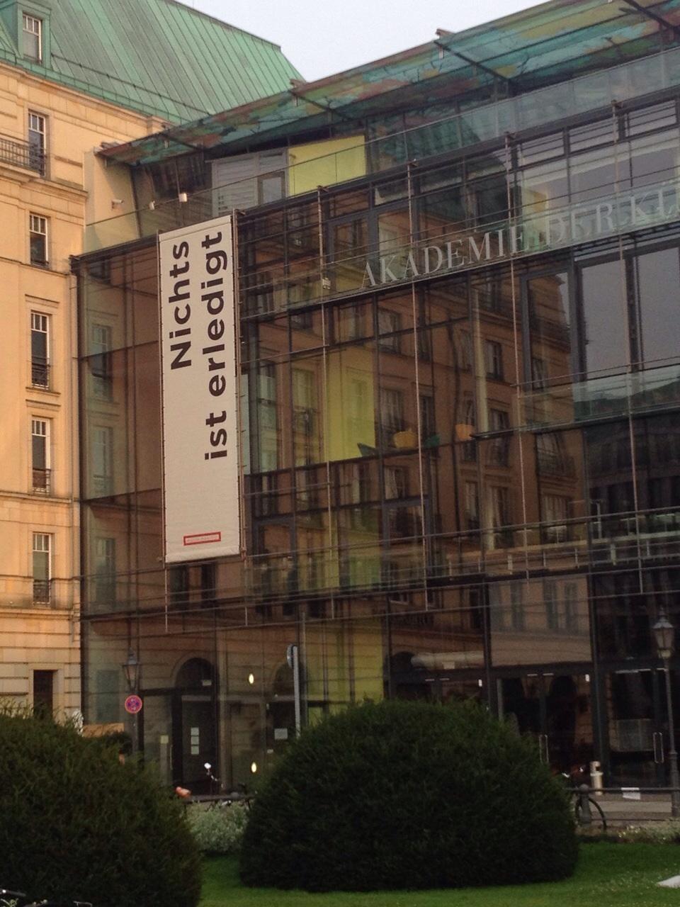 AkademiederKünste, Pariser Platz4, 10117Berlin