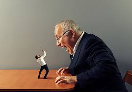 What an overbearing boss feels like!