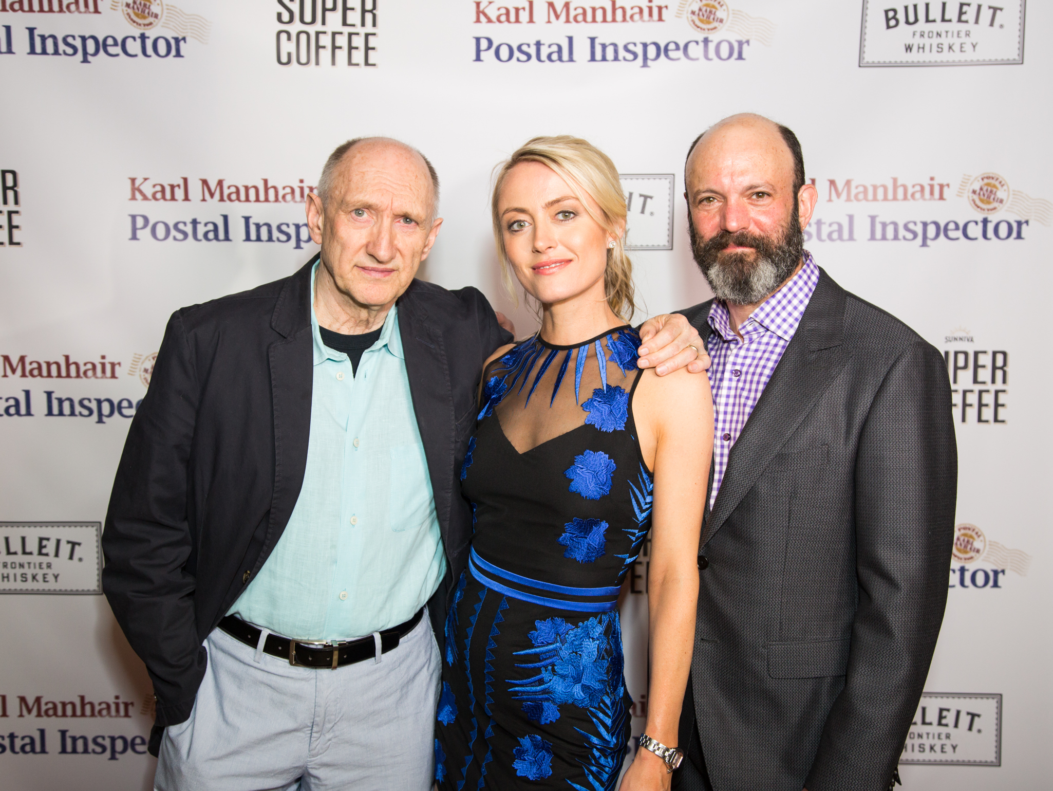 The holy trinity of KMPI at our MailroomNYC screening, stars Peter McRobbie, Amy Rutberg and Geoffrey Cantor