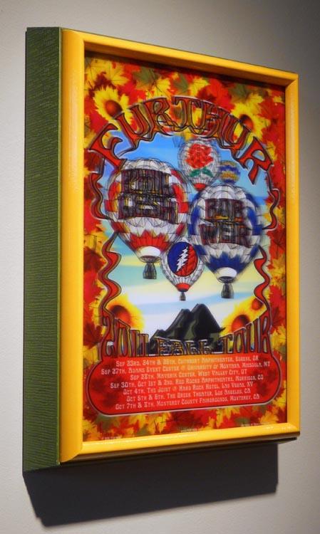 3D Holographic Framed Furthur Poster