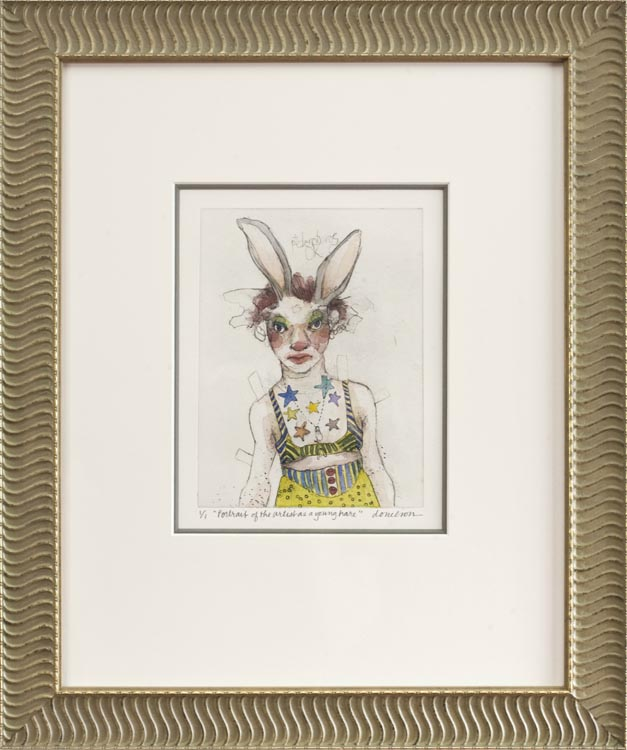 Deborah Donelson, Portrait of the Artist As a Young Hare