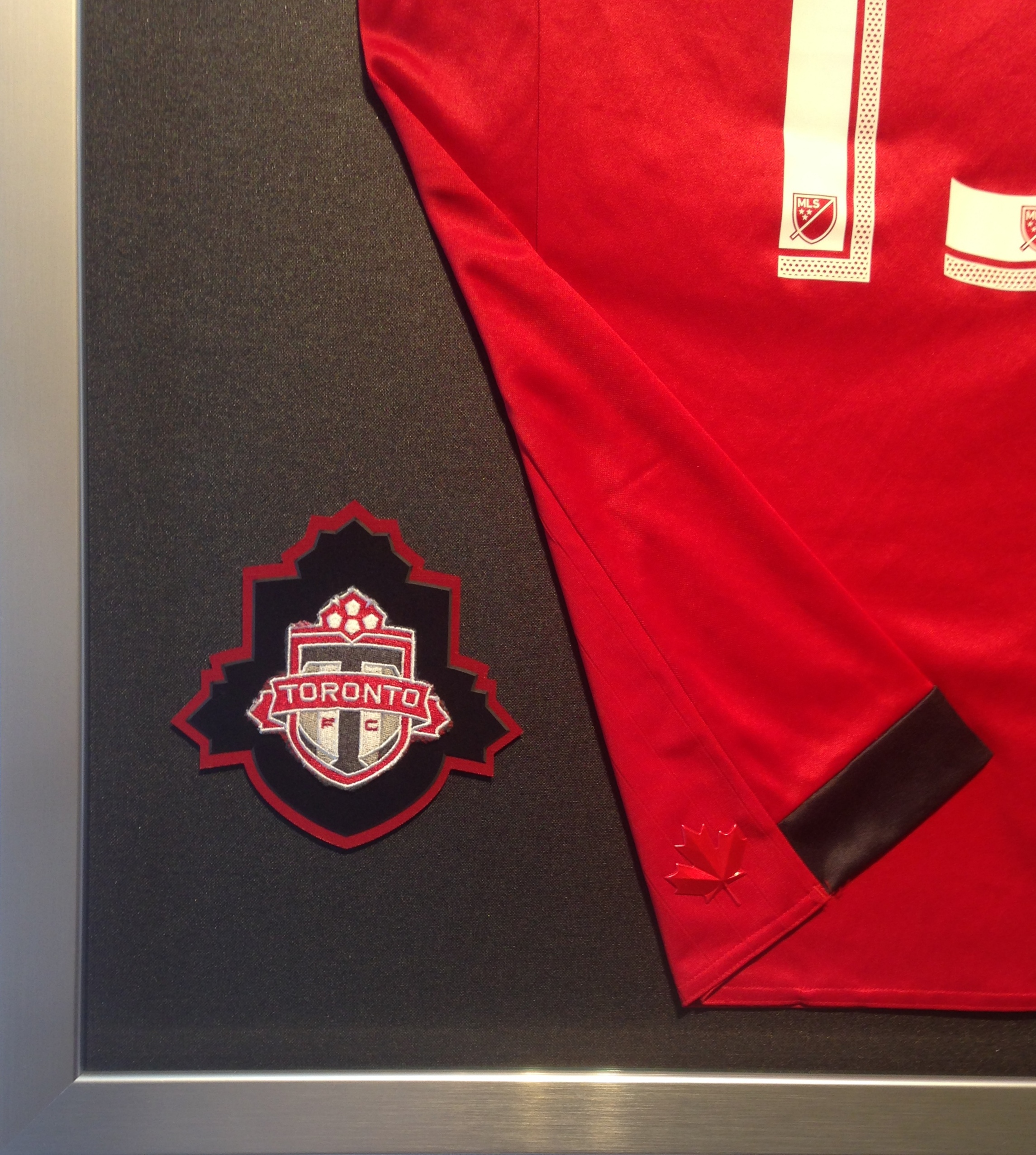 Toronto FC patch detail