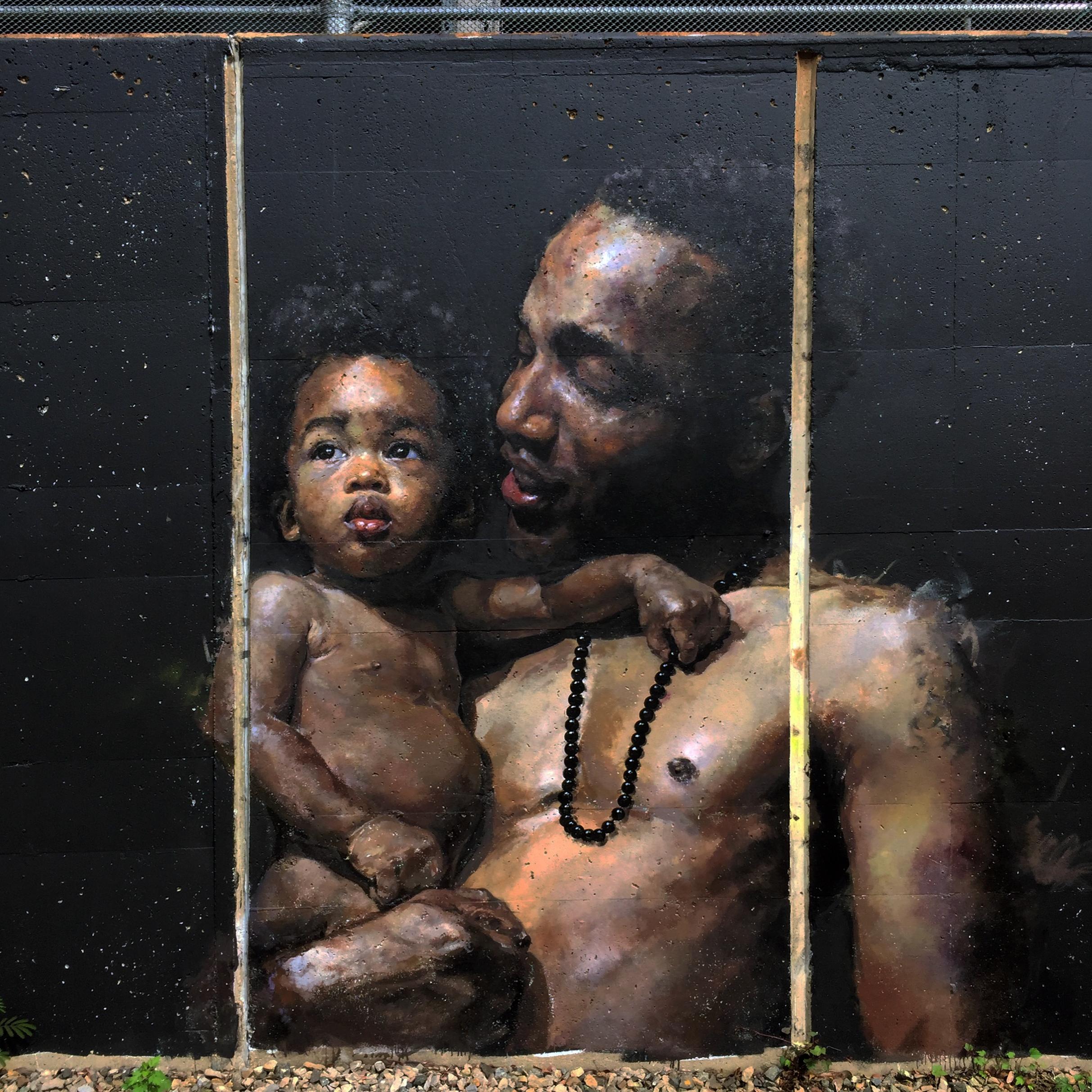Shaunte & Biko Mural
