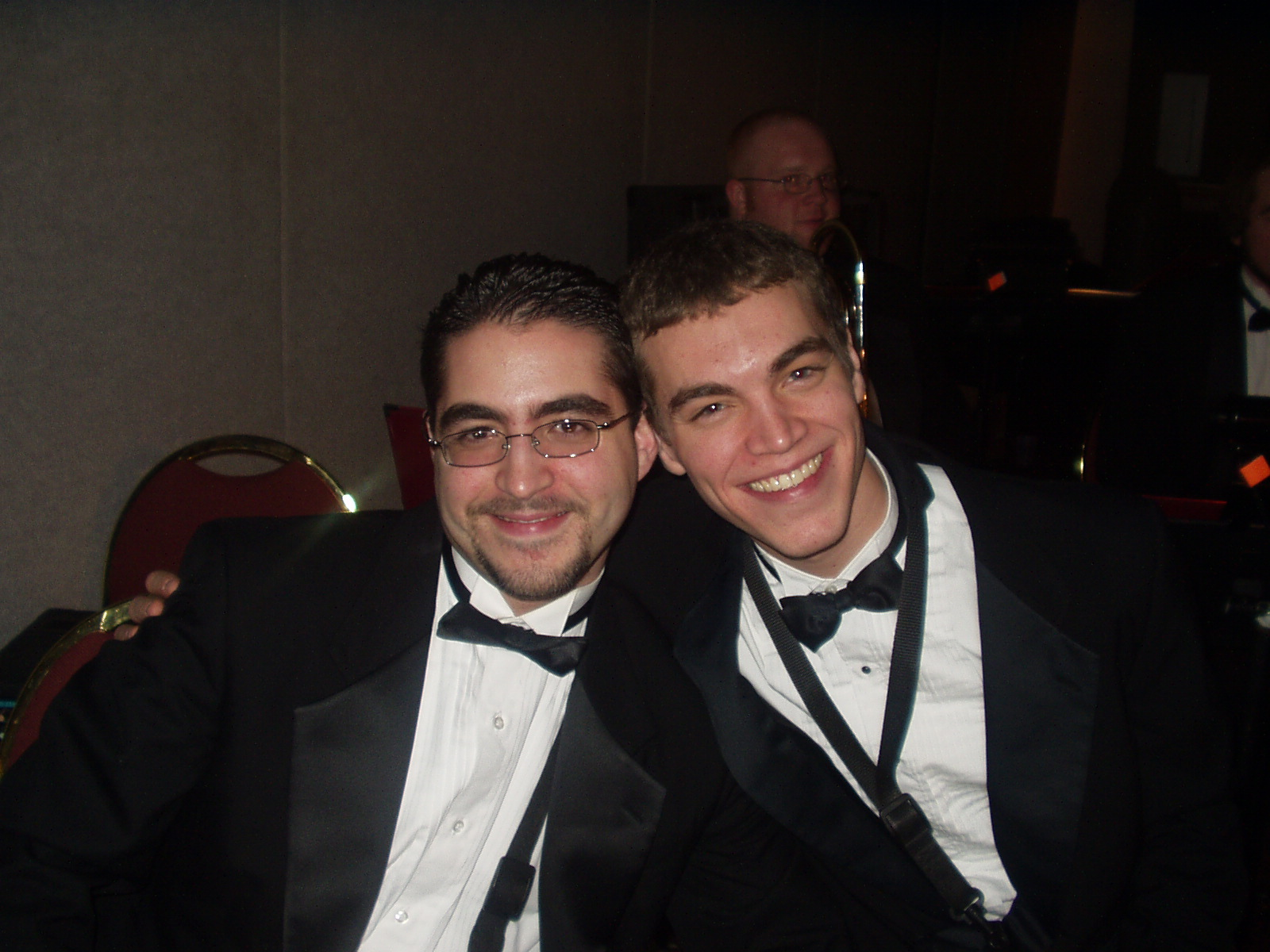Dave and Troy at UWM Grand Viennese Ball