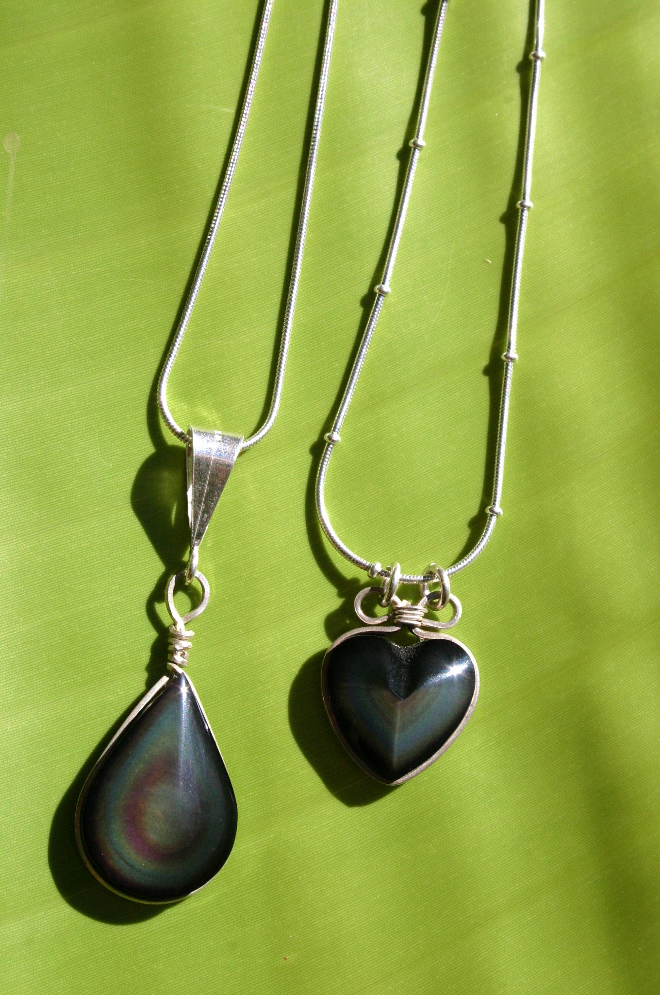 Rainbow Obsidian circa 2004