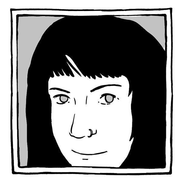 self-portrait by Sarah