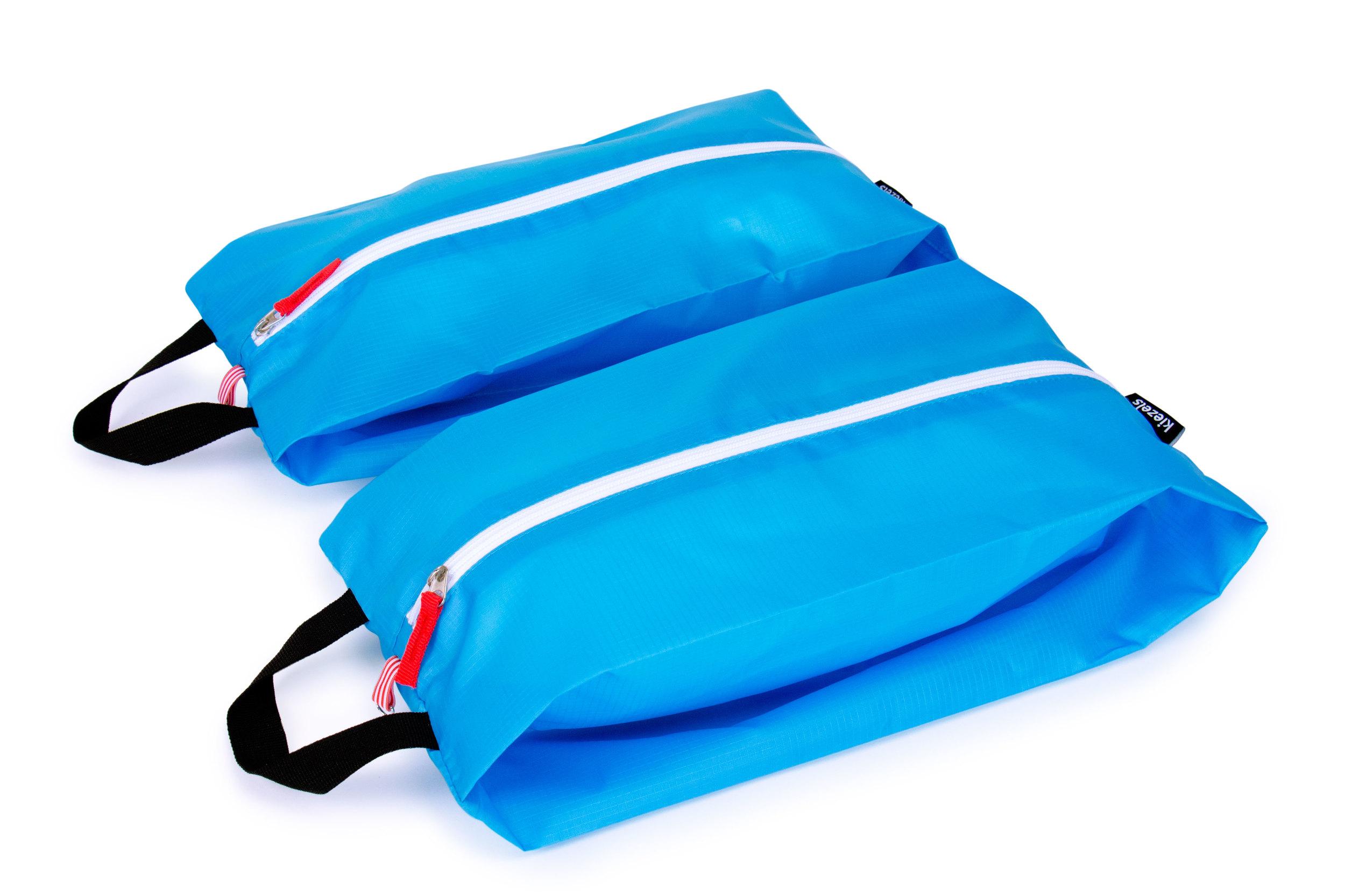No. 301 Travel organiser bags / shoe bags - size L - sky blue € 21,-