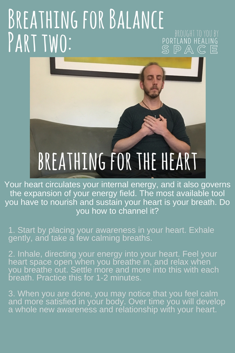 Expand your energy field by channeling your breath