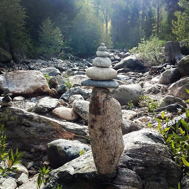 Morning Stack, Fish Creek Falls, Colorado