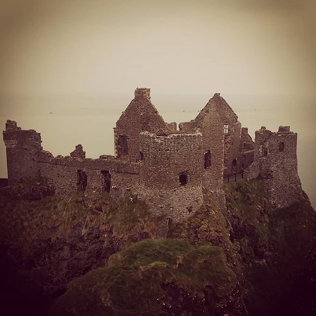 Dunluce Castle, Northern Ireland, UK