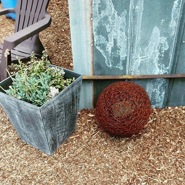 Wire Garden Sphere