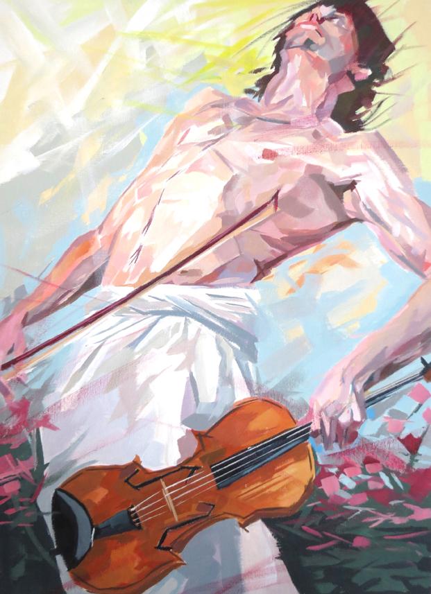 St Matthew's Passion 18x24