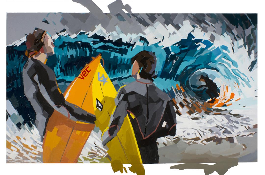 Shore Break 24x36