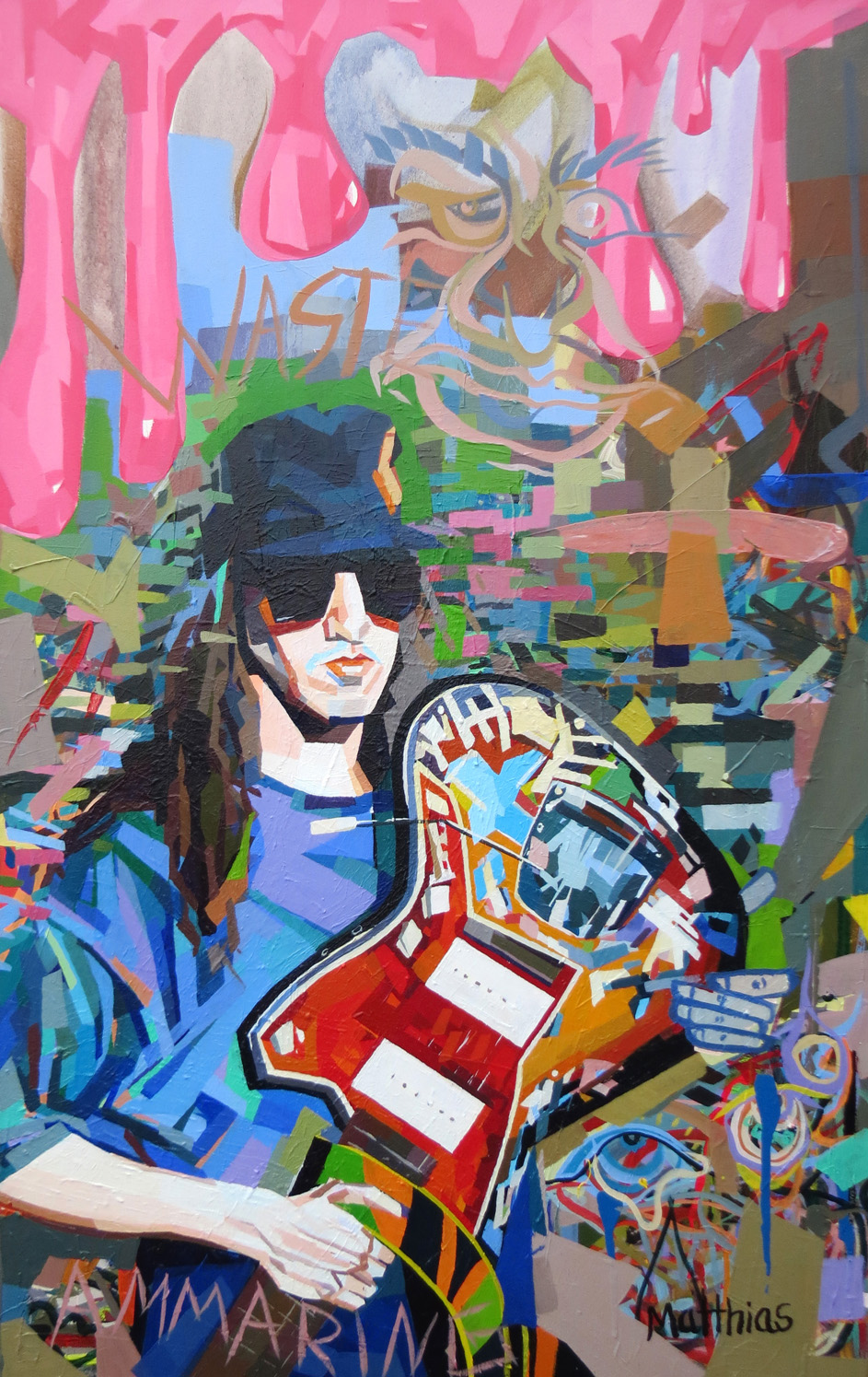 Young Mascis 36x48