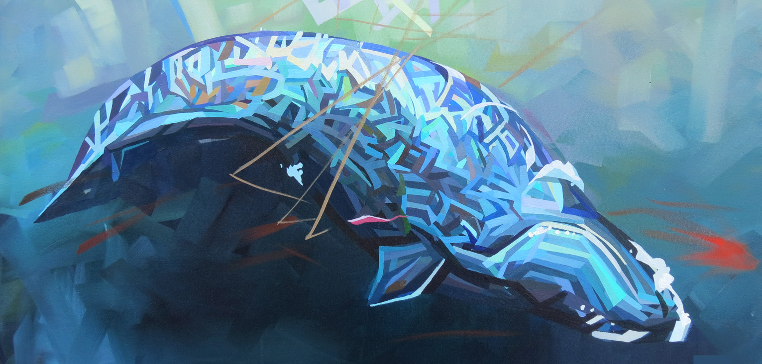Right Whale 24x48