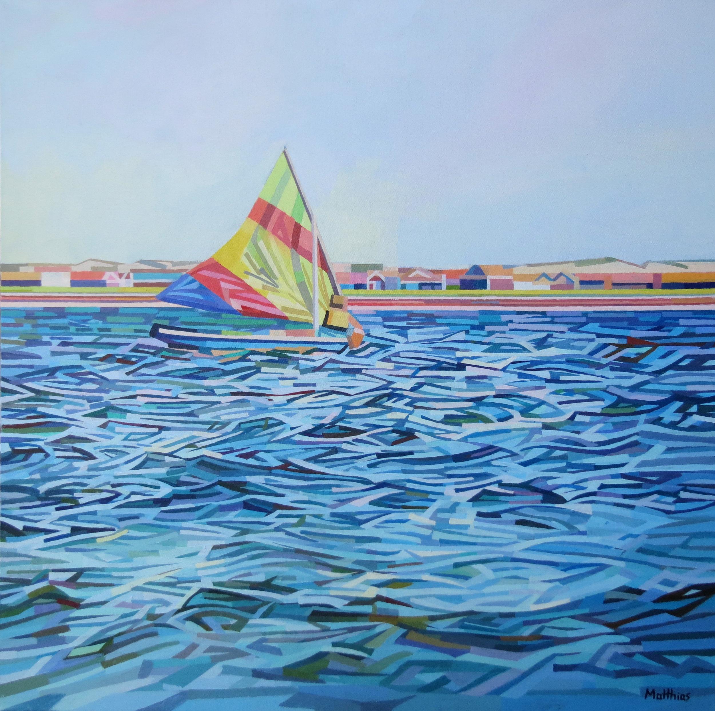Autumn Sail 30x30