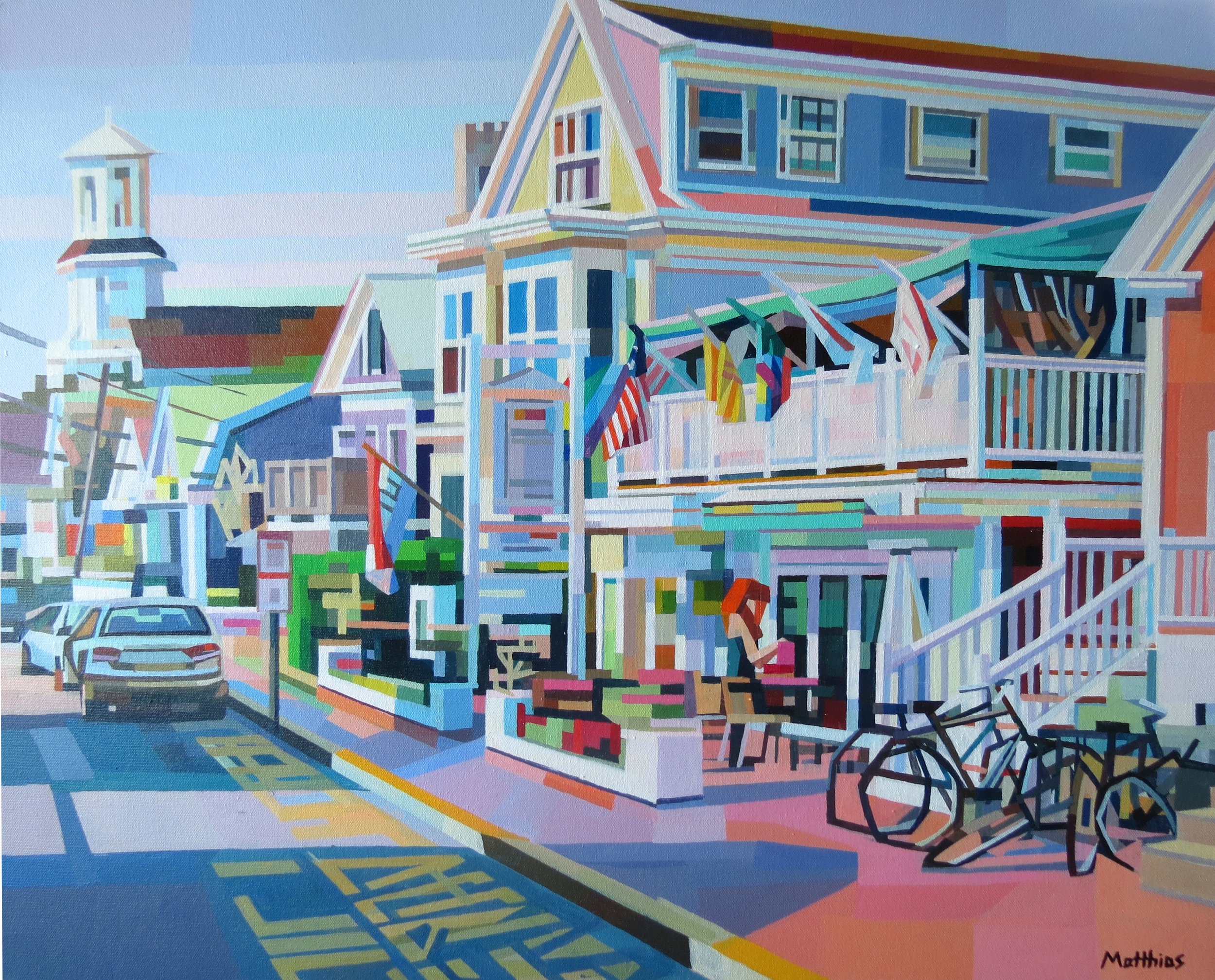 Commercial St.2 30x24 sold