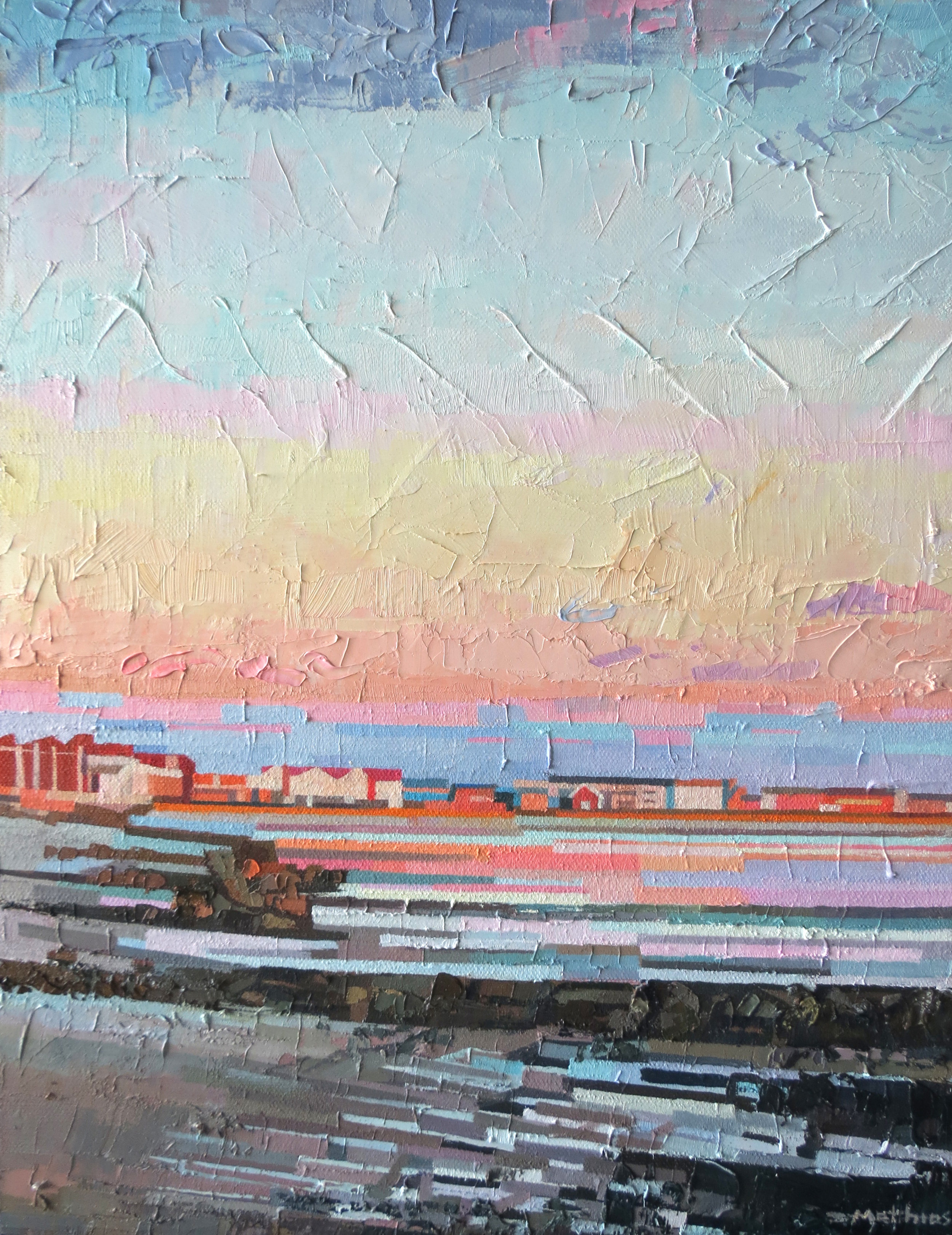Waning Light 12wx16h sold
