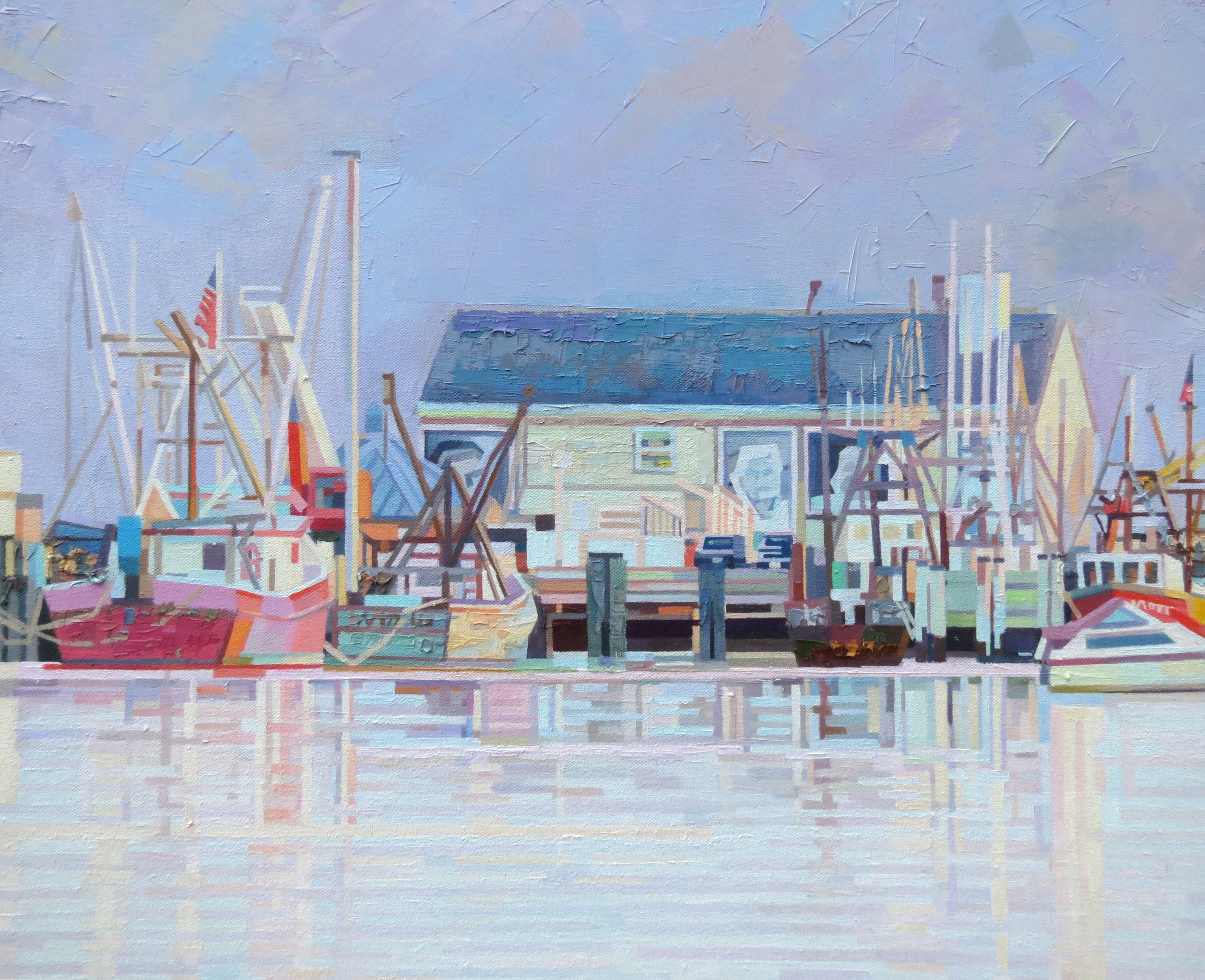 Fishermans' Wharf 24wx18h sold