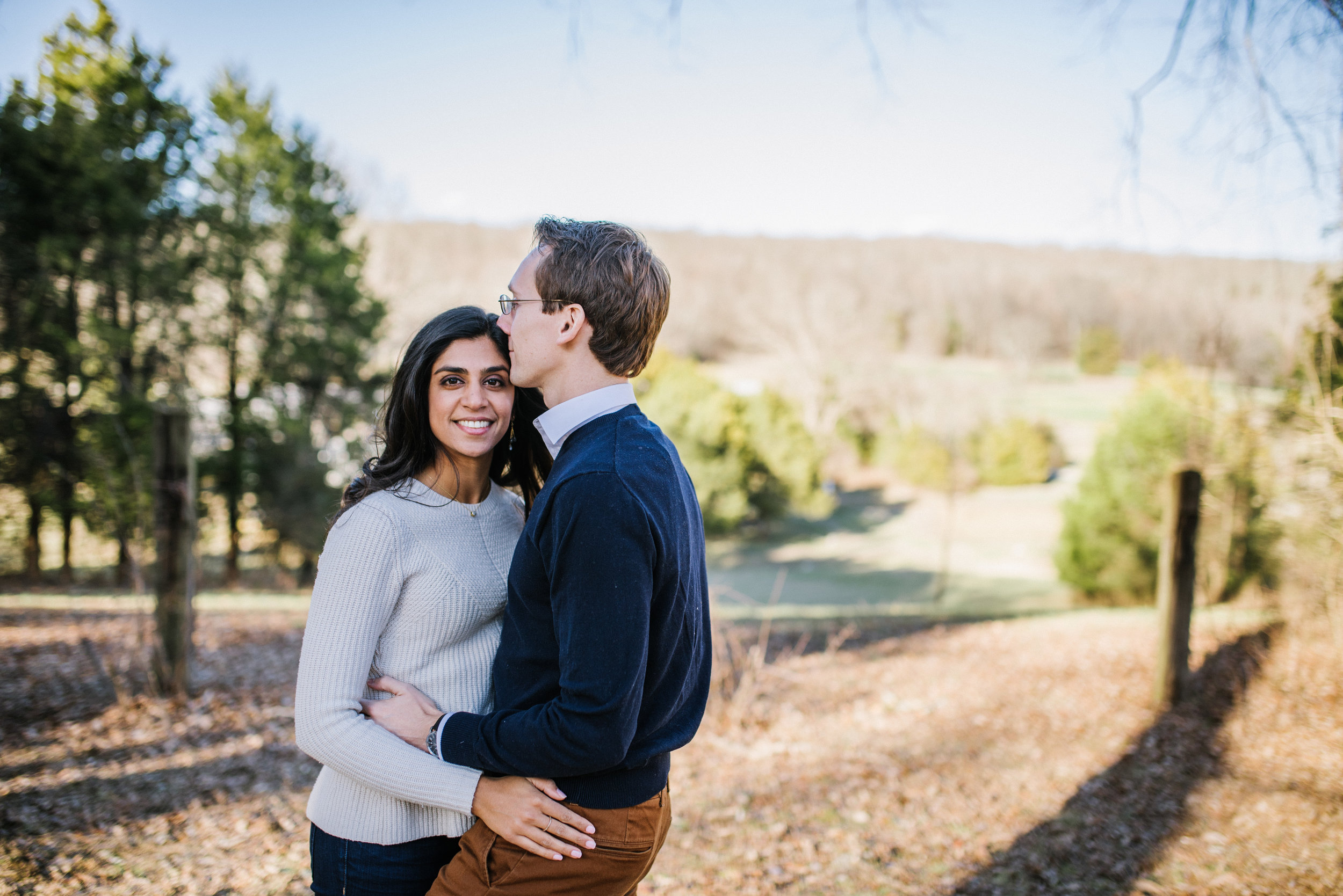 Engagement Session at  Bloomsbury Farms