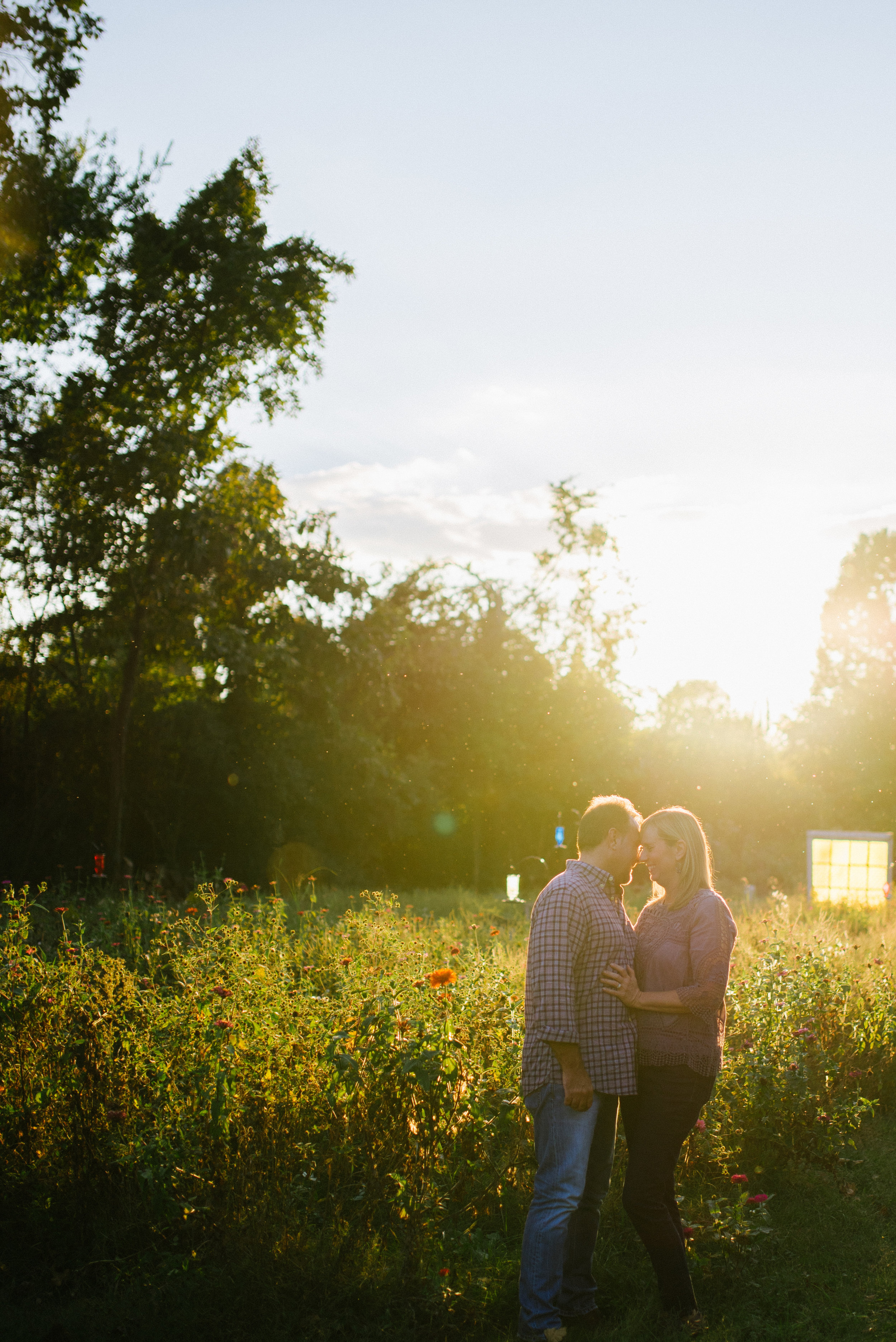 Engagement Session at Sinking Creek Farms
