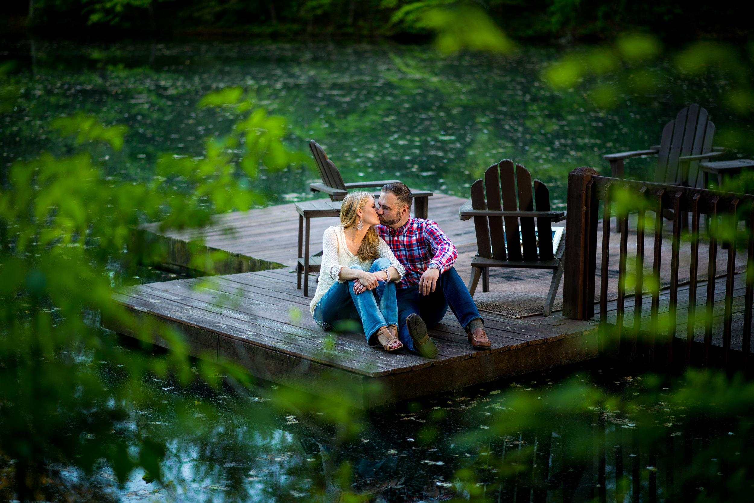 Engagement Session at Private Residence outside of Nashville