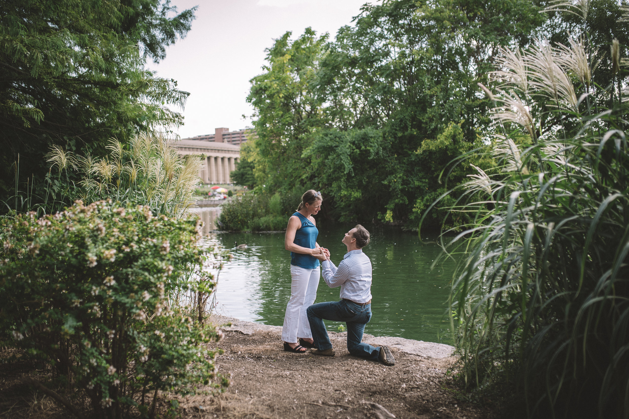 Amy + Nick - Engagement Photos - Nashville