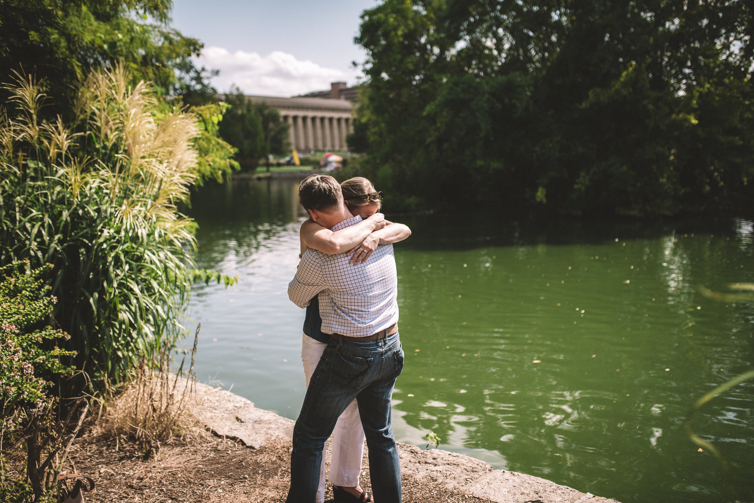 Amy + Nick - Engagement - Nashville