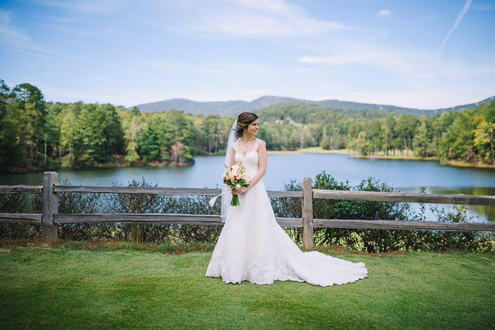 Rachel + Ryan Big Canoe Wedding Photography