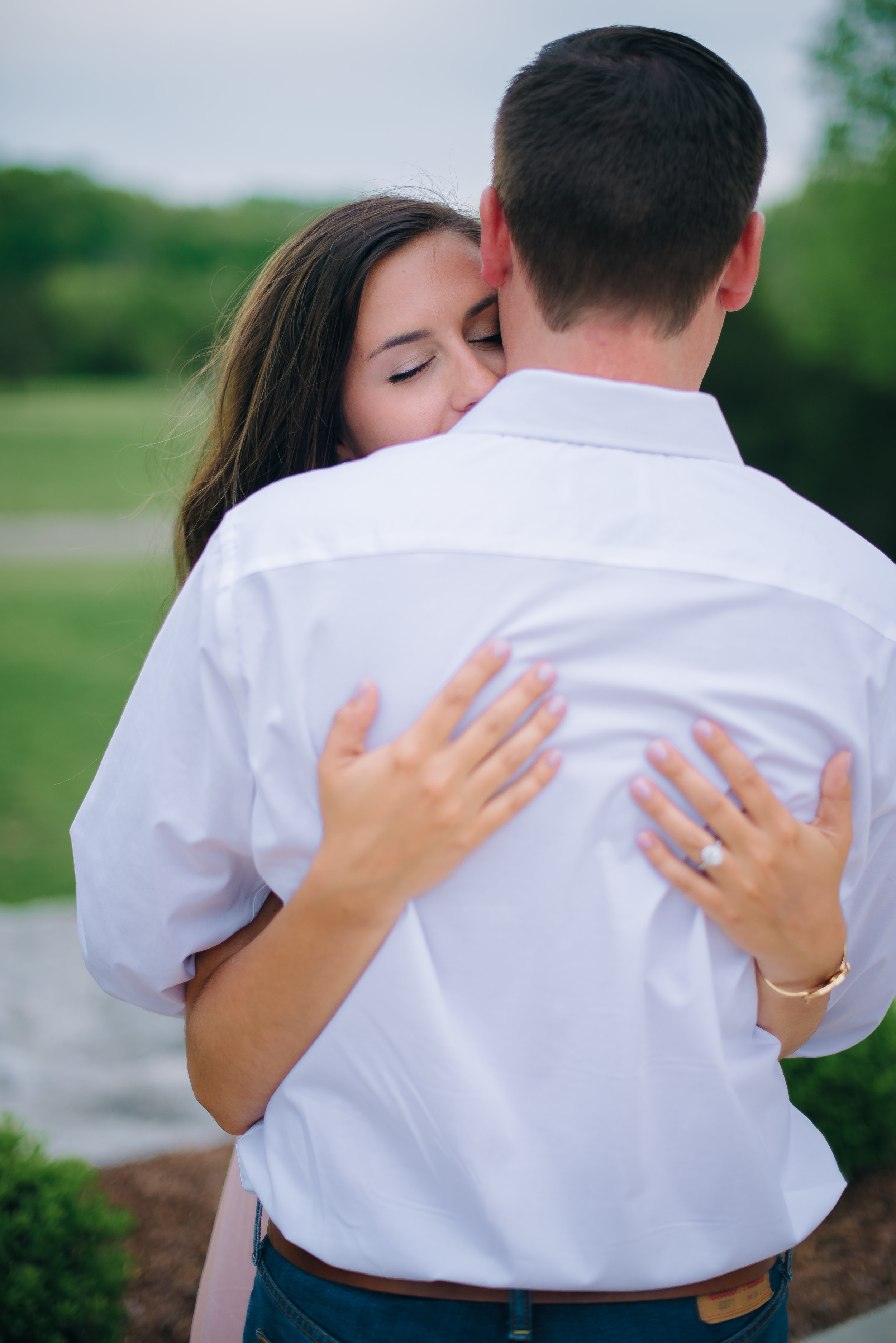 Courtney + Jake Engagement Photos Graystone Quarry - Nashville Wedding Photographer