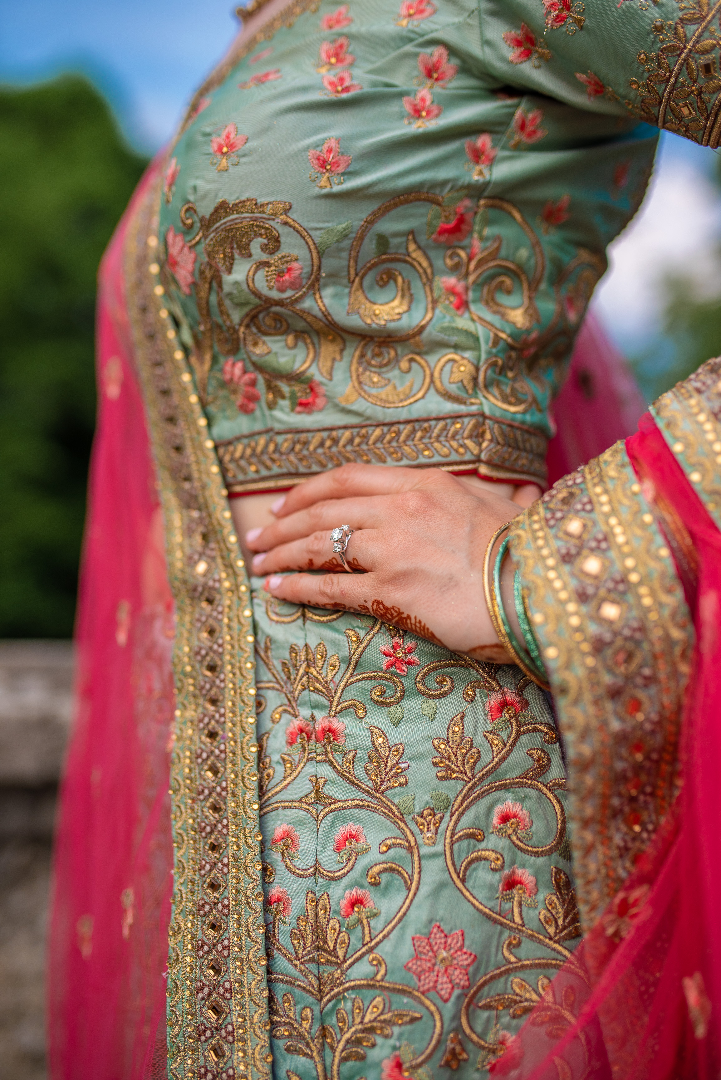 Katie + Sudeep Indian Wedding Details Nashville