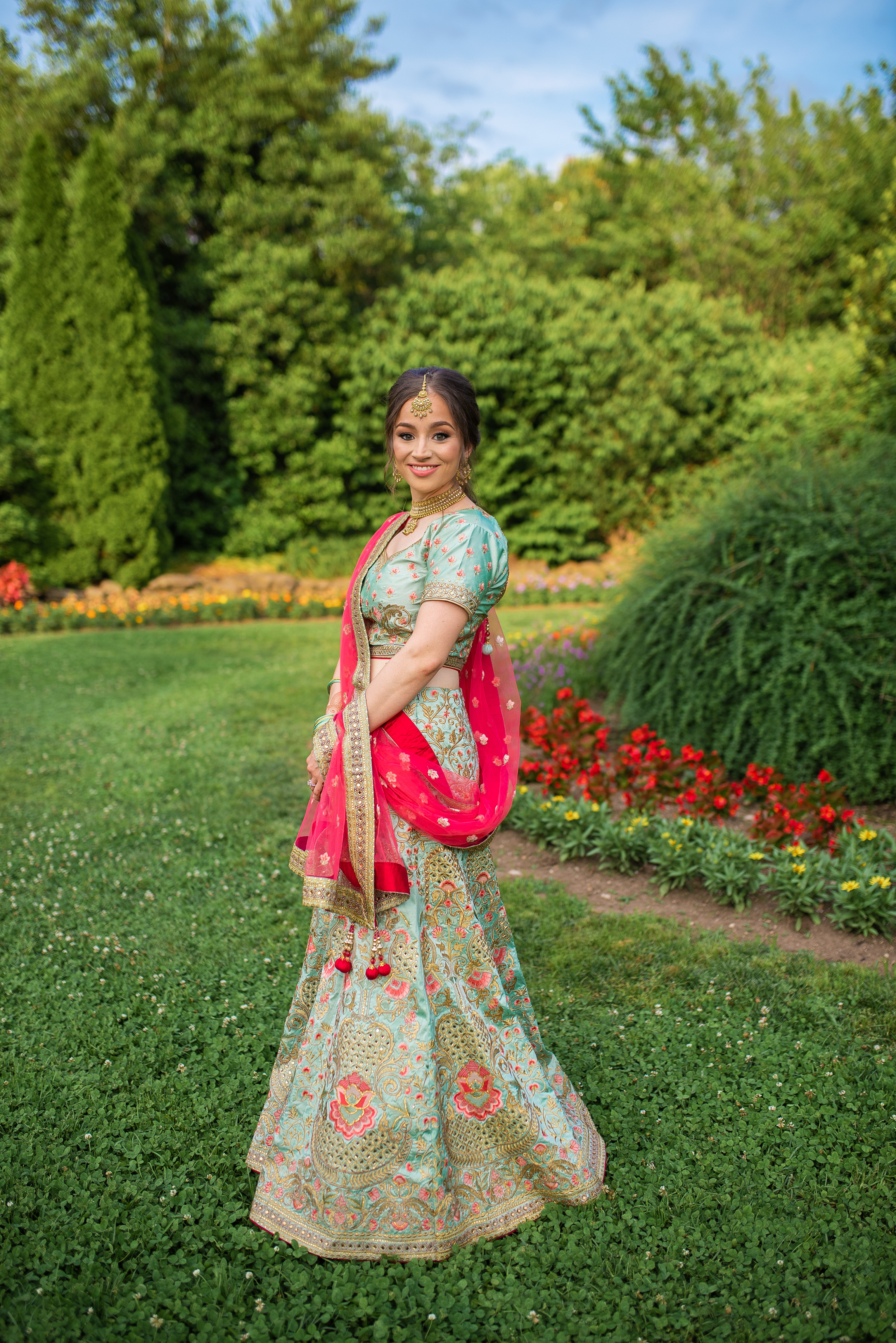 Katie + Sudeeps Indian Wedding Ceremonies Details Nashville