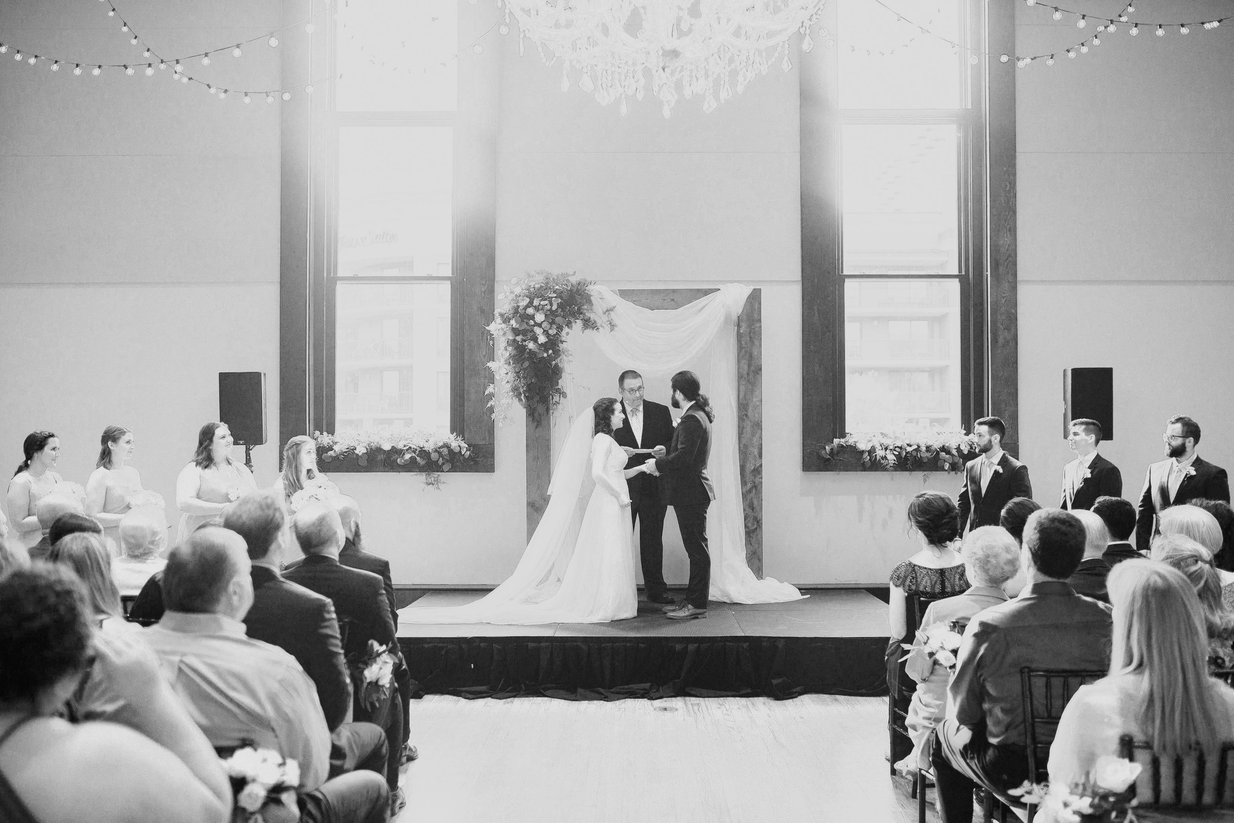 Jesse +Frankie Bell Tower Wedding by Details Nashville