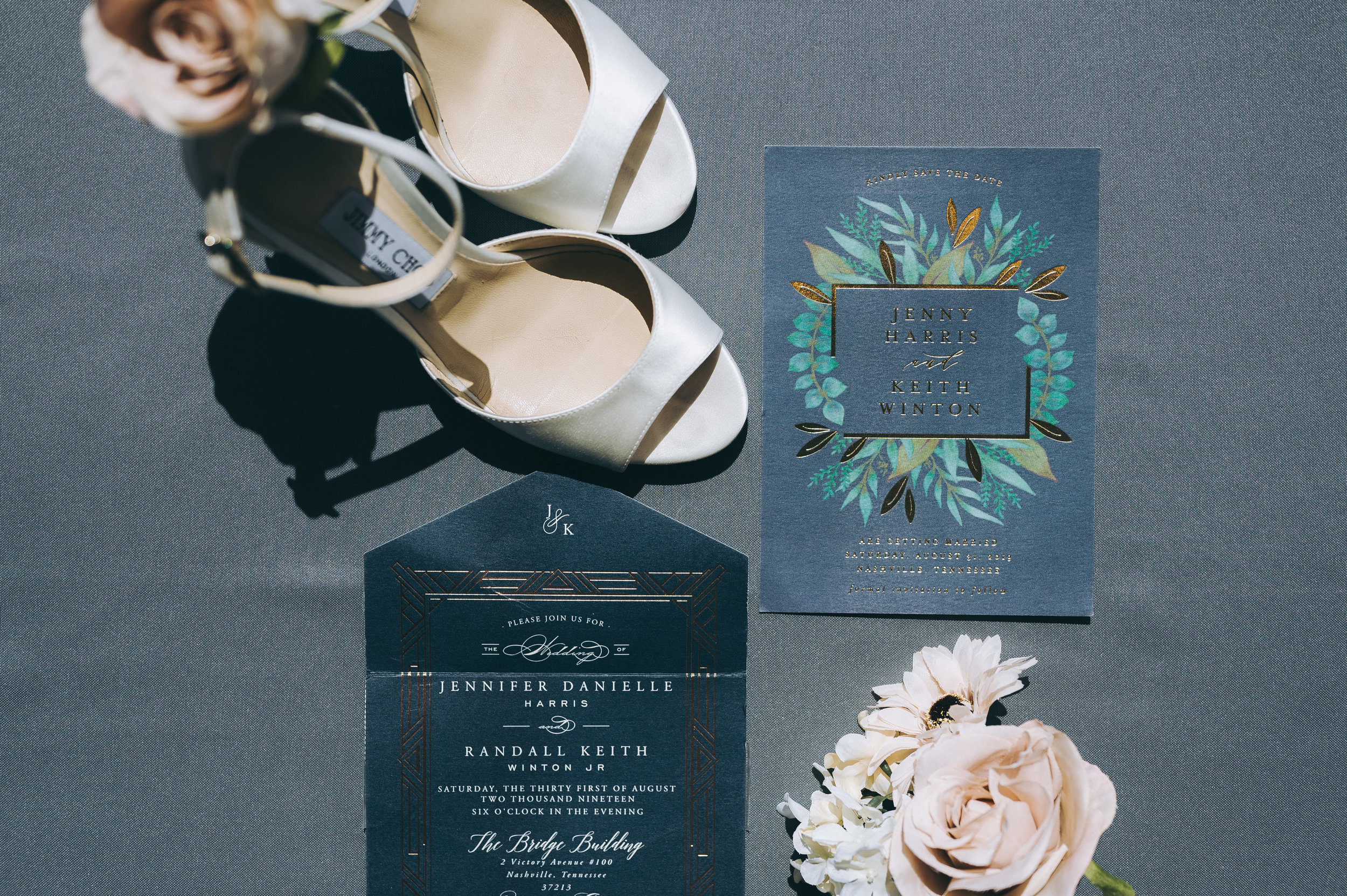 Jenny + Keith Nashville Wedding - Details Nashville