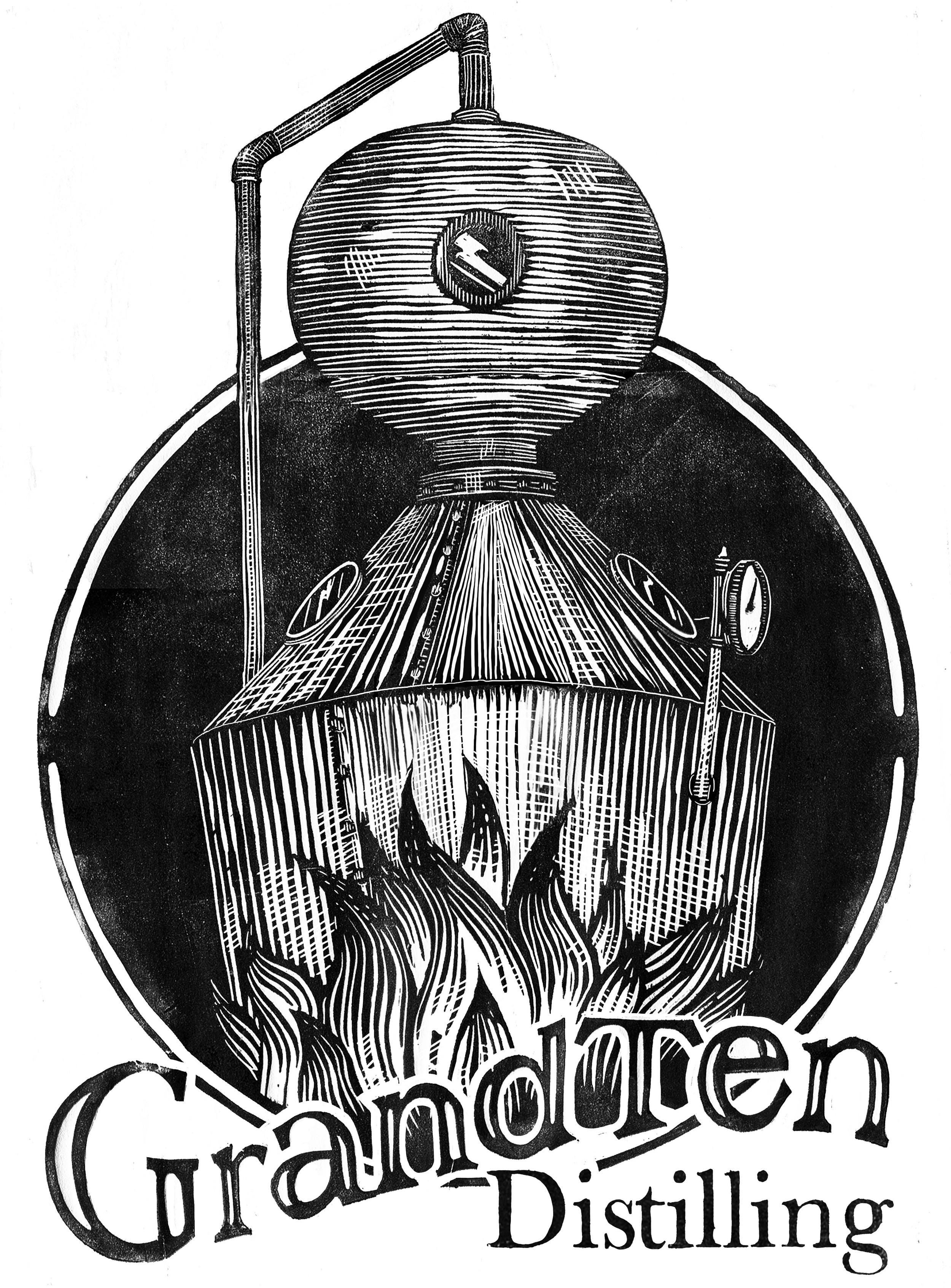 T Shirt for GrandTen Distilling