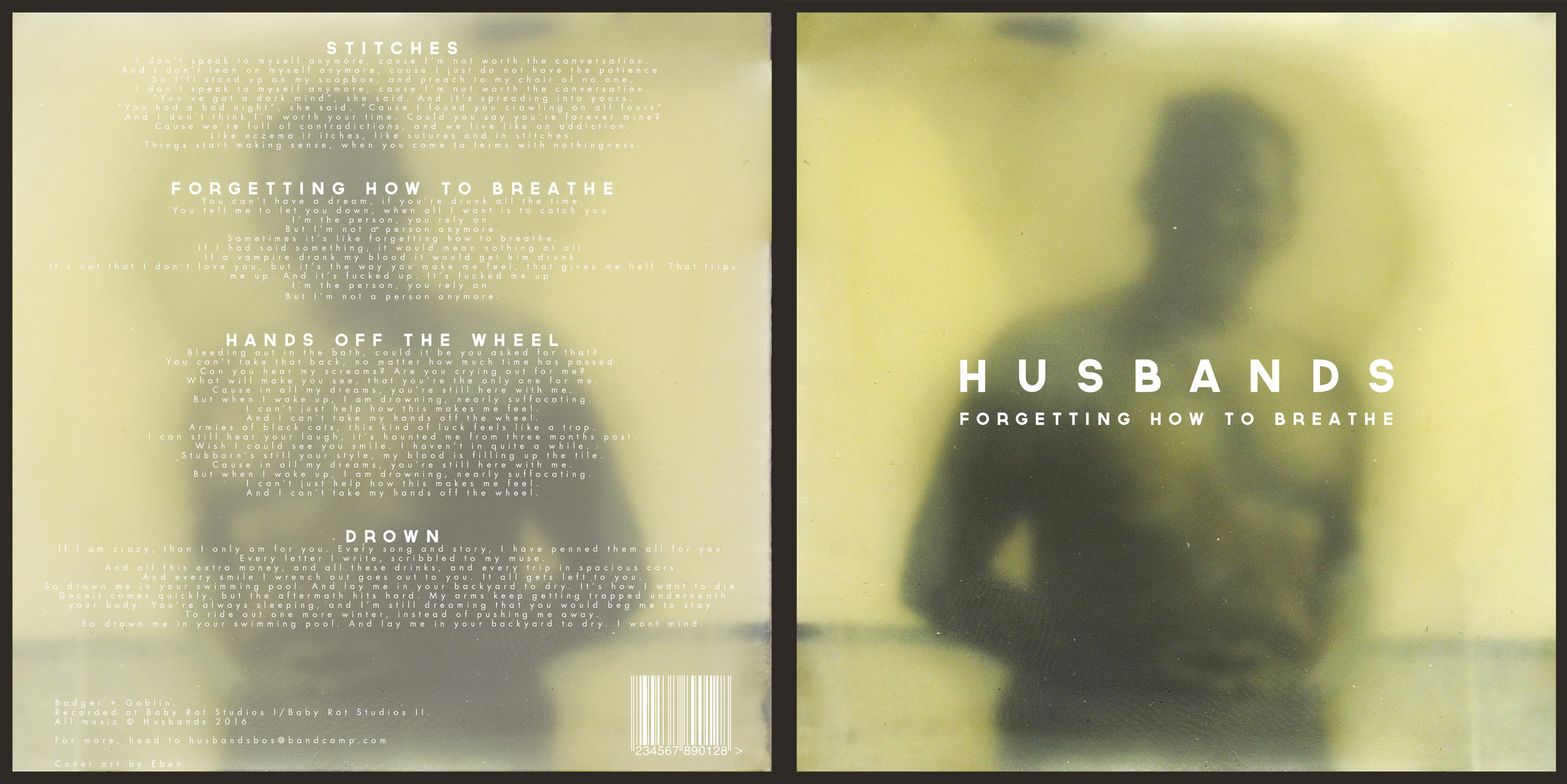 Husbands Record Sleeve