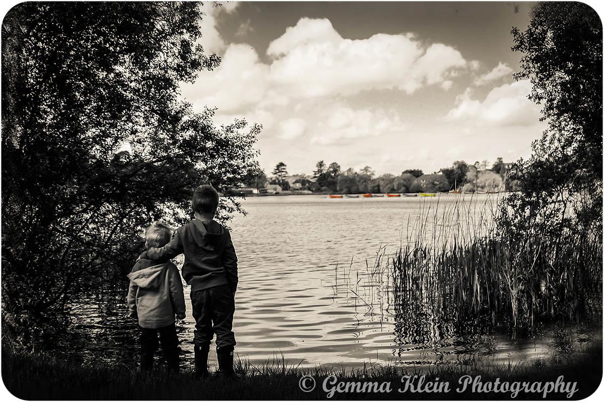 Boating Lake, the heath, Petersfield.
