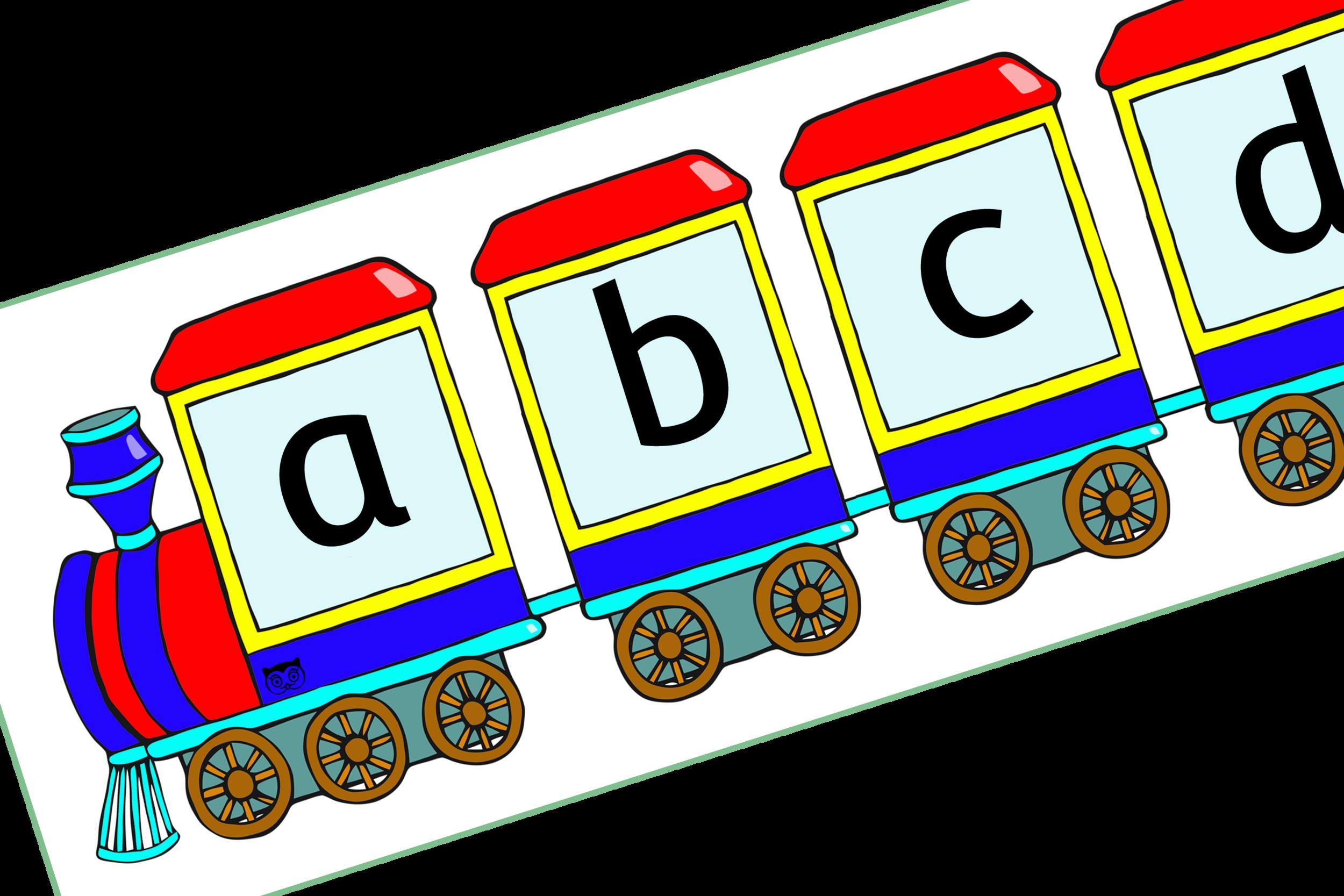STEAM TRAIN ALPHABET