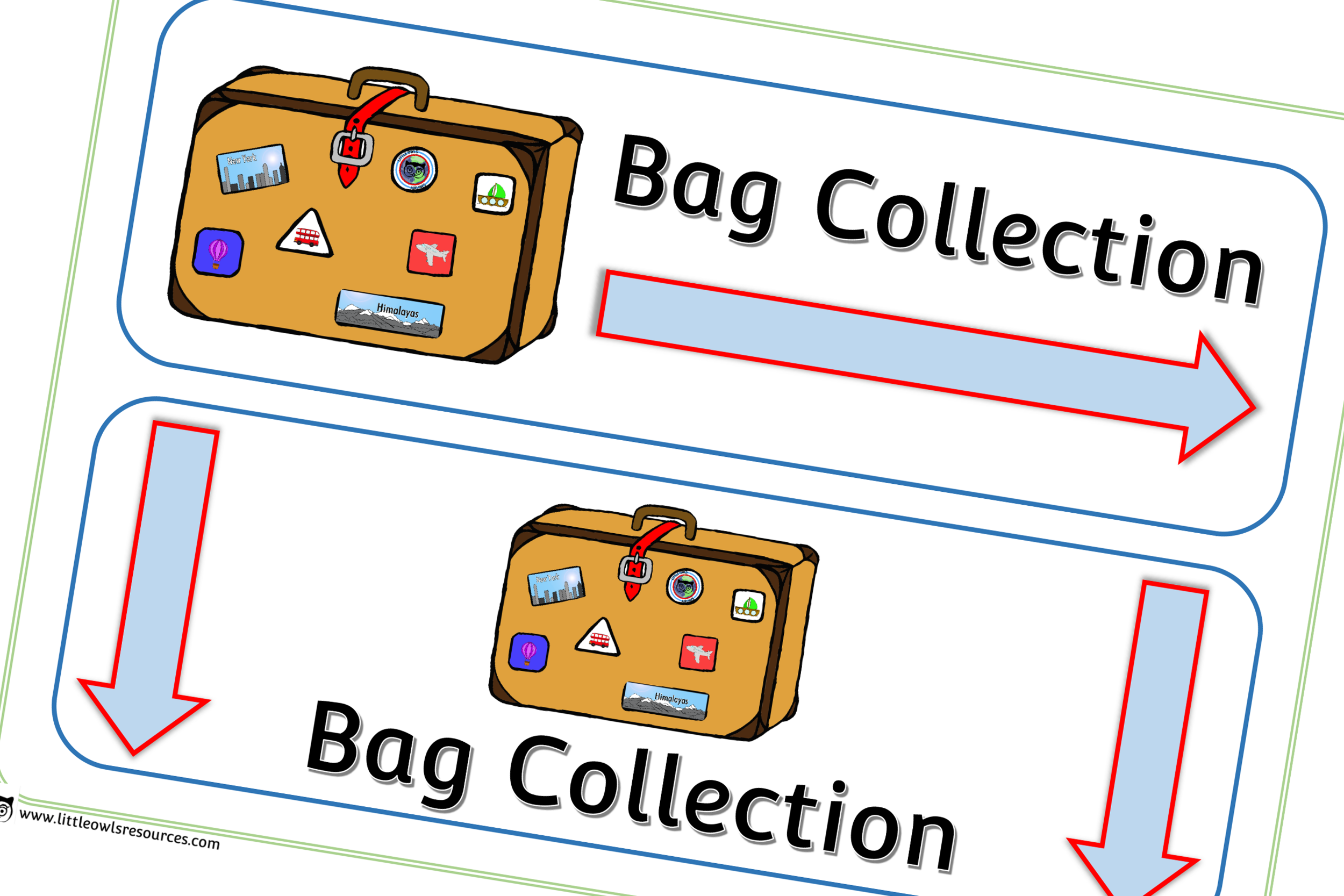 BAG COLLECTION POSTERS