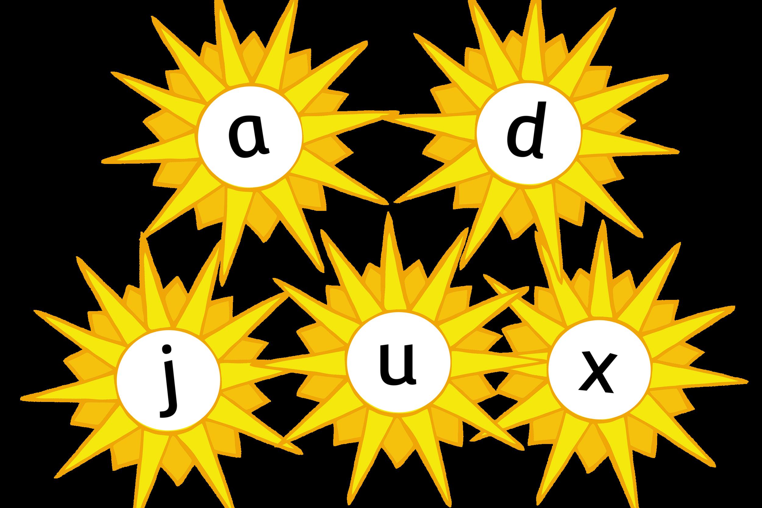 Summer Sun Alphabet